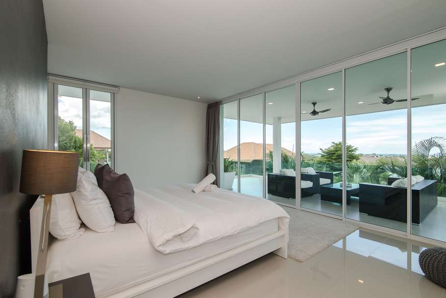 Stunning 5 bed Phu Montra villa for sale - bedroom view