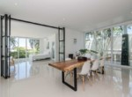 Stunning 5 bed Phu Montra villa for sale- dining table