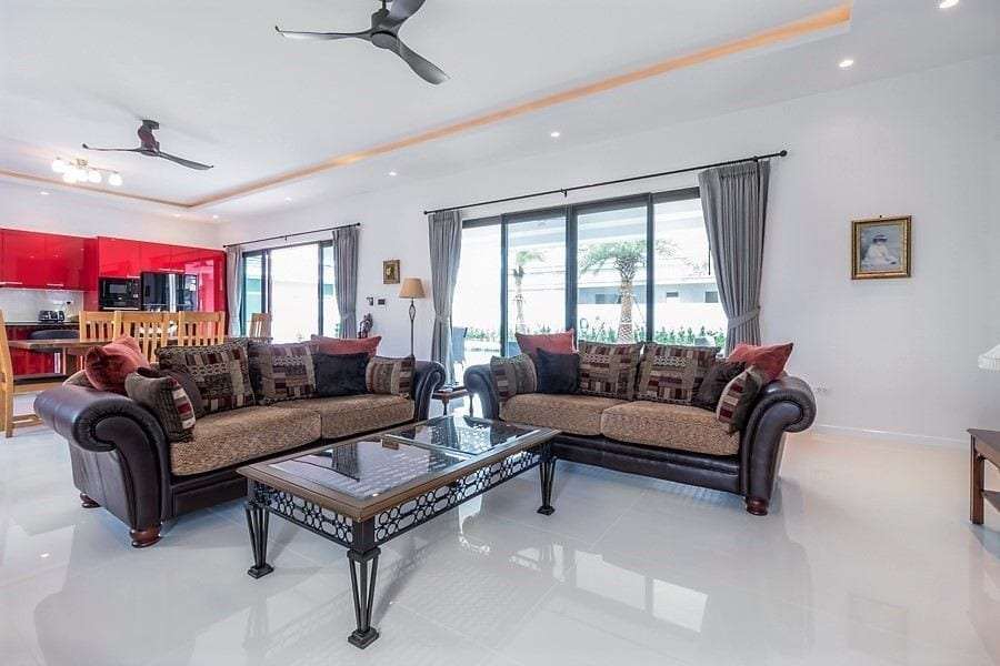 The Clouds villa for sale - living room