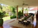 Villa with Sauna and huge pool for sale and rent - terrace