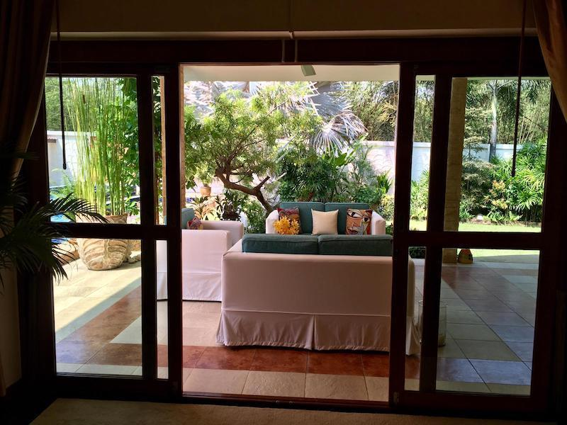 Villa with Sauna and huge pool for sale and rent - bedroom view