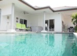 Mali Residence resale villa in Hua Hin - -pool