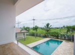 Spacious pool villa for sale close to town - balcony