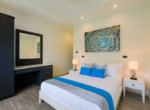 Pool villa in secured development for rent - guest room