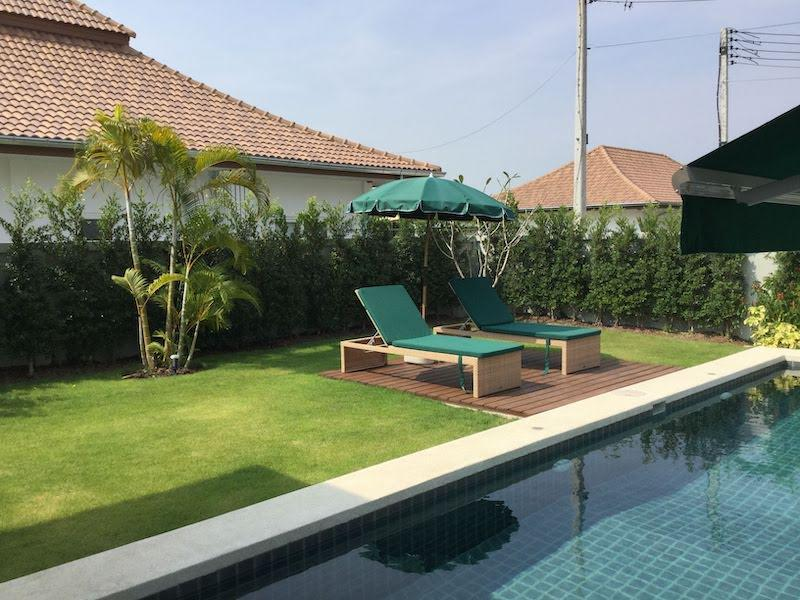 Beautiful rental villa in Mali Prestige - sun terrace