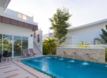 Pool villa for rent in Sivana Garden - pool