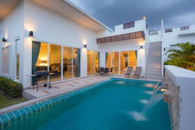 Pool villa for rent in Sivana Garden