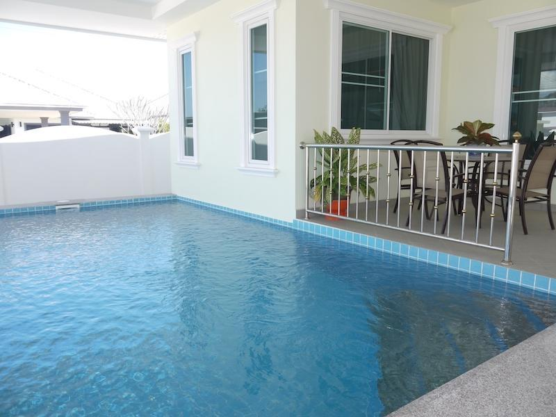 Cha Am pool villa for sale in best location - pool