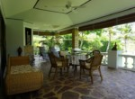 Beautiful Laguna villa for sale in Hua Hin - dining outdoor