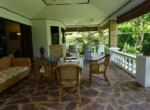 Beautiful Laguna villa for sale in Hua Hin - terrace