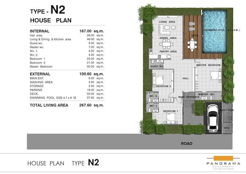 Panorama Black Mountain - Floor Plan N2