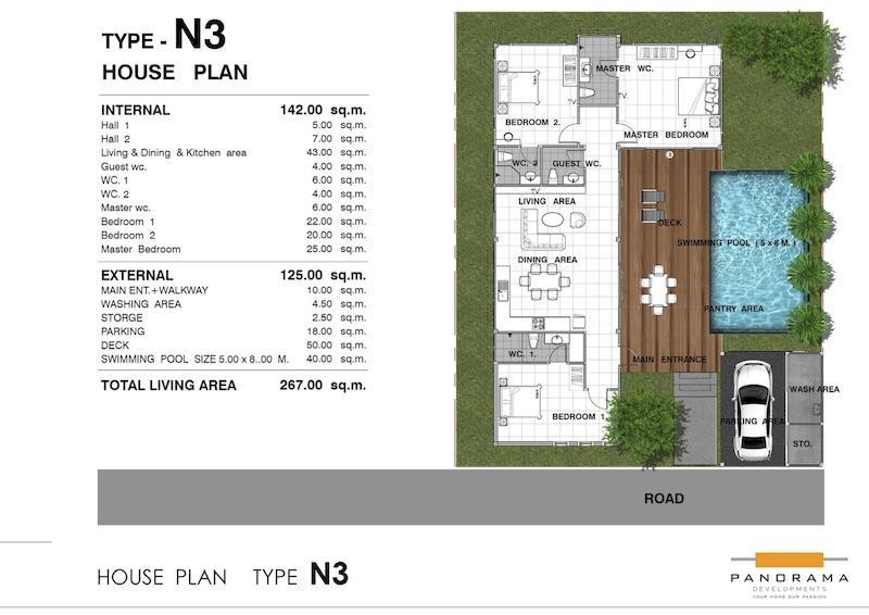 Panorama Black Mountain - Floor Plan N3