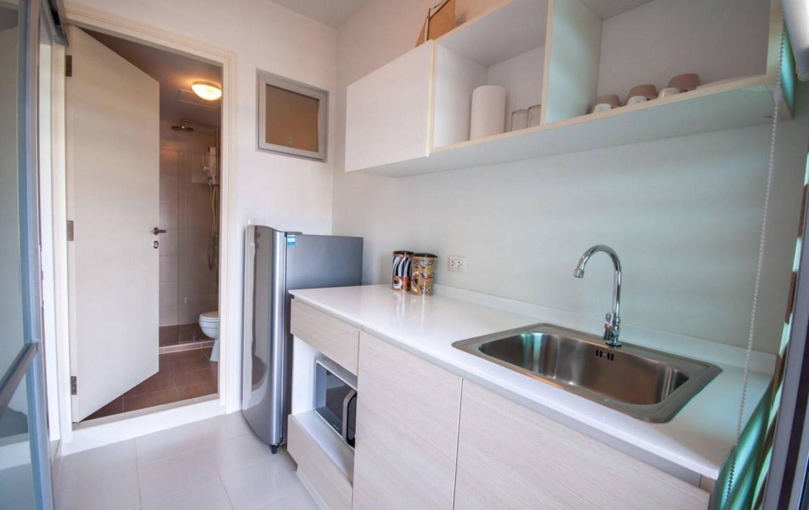 studio apartment Baan Kiang Fah for sale - kitchen
